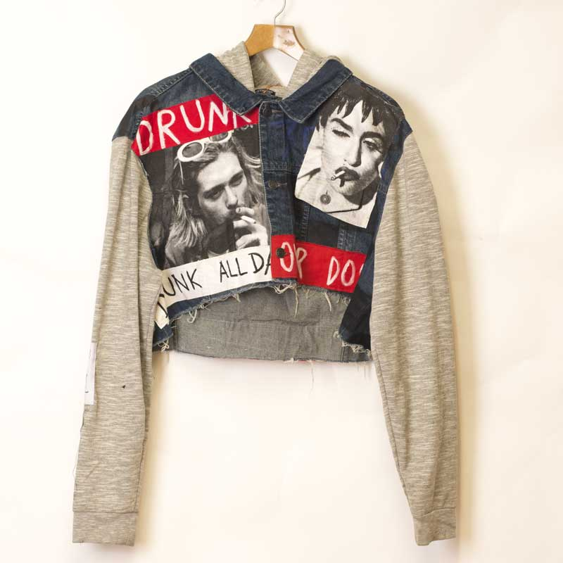 Chaqueta Gray Drunk